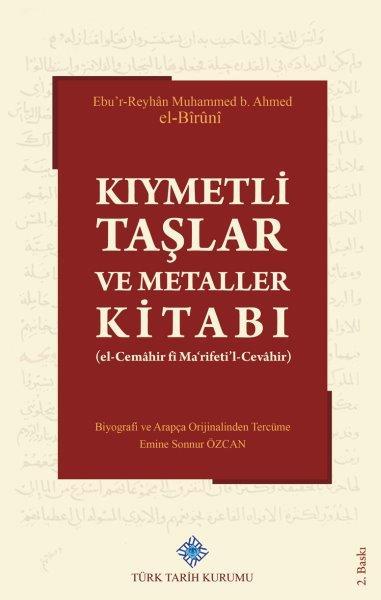 Kıymetli Taşlar ve Metaller Kitabı (el-Cemâhir fî Ma'rifeti'l-Cevâhir), 2020