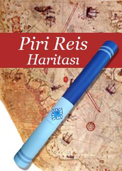 Piri Reis Haritası Posteri (Kutulu), 2020