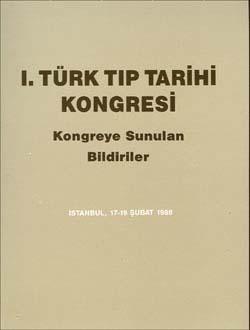 Türk Tıp Tarihi Kongresi 1, 1992