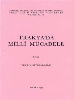 Trakya`da Millî Mücadele - I, 1992