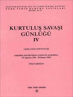 Kurtuluş Savaşı Günlüğü - IV, 1996