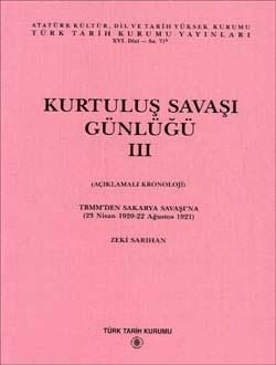 Kurtuluş Savaşı Günlüğü - III, 1995
