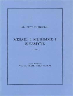 Mesâil-i Mühimme-i Siyasiyye 1, 1987
