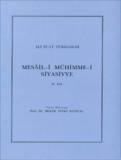 Mesâil-i Mühimme-i Siyasiyye 2, 1987