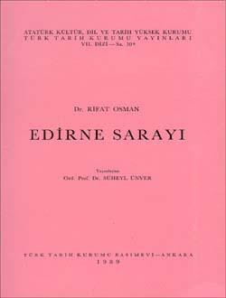 Edirne Sarayı, 1989