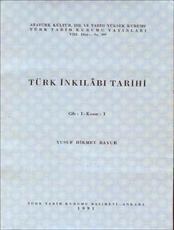 Türk İnkılâbı Tarihi I-I, 1991