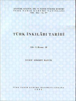 Türk İnkılâbı Tarihi  I-II, 1991