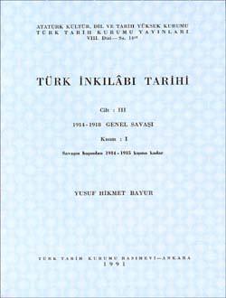 Türk İnkılâbı Tarihi III-I, 1991
