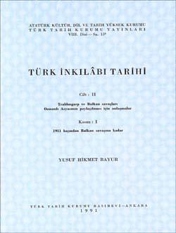 Türk İnkılâbı Tarihi II-I, 1991