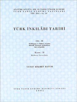 Türk İnkılâbı Tarihi II-II, 1991