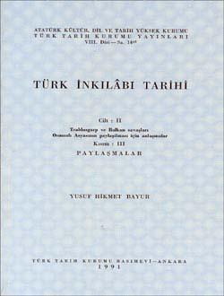 Türk İnkılâbı Tarihi II-III, 1991