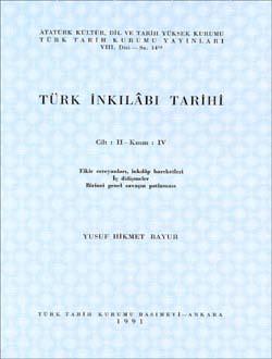 Türk İnkılâbı Tarihi II-IV, 1991