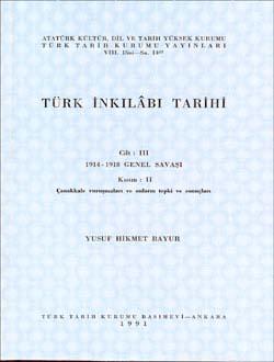 Türk İnkılâbı Tarihi III-II, 1991