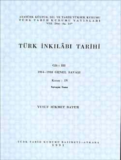 Türk İnkılâbı Tarihi III-IV, 1991