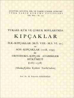 Yukarı-Kür ve Çoruh Boyları`nda KIPÇAKLAR, 1992
