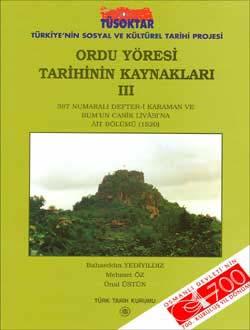 Ordu Yöresi Tarihinin Kaynakları III, 2002