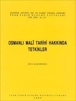 Osmanlı Malî Tarihi Hakkında Tetkikler, 1989