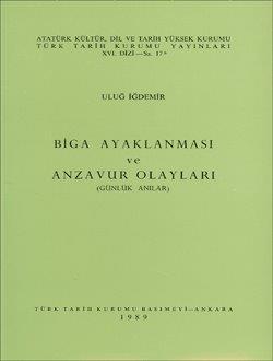 Biga Ayaklanması ve Anzavur Olayları (Günlük Anılar), 1989