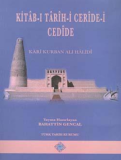 Kitab-ı Tarih-i Ceride-i Cedide, Karî Kurban Ali Hâlidî, 2013