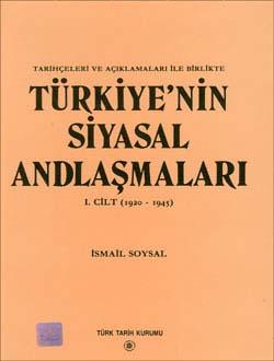 Türkiye`nin Siyasal Andlaşmaları 1, 2000