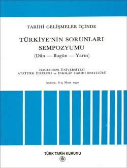 Tarihi Gelişmeler İçinde Türkiye`nin Sorunları Sempozyumu, 1995